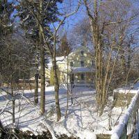 Historic Hemenway House on Main St. in Framingham on February 12, 2006, Фрамингам