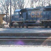 CSX loco in Framingham, MA, Фрамингам