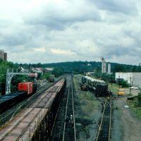 Derailment at Conrails Framingham Yard, Framingham, MA, Фрамингам
