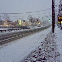 Route 9 Traffic at 5 p.m, Фрамингам