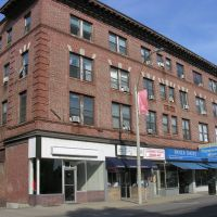 Wilsonia Building, Union Ave., Downtown Framingham (built early 1900s), Фрамингам