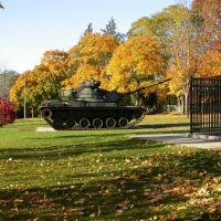 Tank in Szot Park Chicopee MA, Чикопи