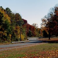 Winding Autumn Road Chicopee MA, Чикопи