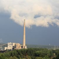 A coal fired powerplant in the St Croix Valley, Бейпорт