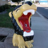 Brainerd Lions Fountain, Brainerd, MN, Бирон