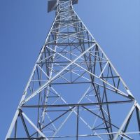 Railroad communication tower., Вест-Сант-Пол