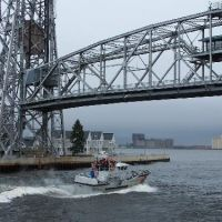 Areial Lift Bridge, Duluth, St. Louis County, Minnesota, Дулут