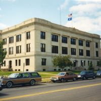 Crow Wing County Courthouse, Brainerd, MN, Клокуэт