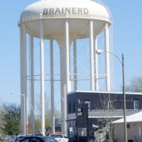 Water Tower in Brainerd, MN, Колумбия-Хейгтс