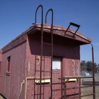 Old caboose, Кун-Рапидс