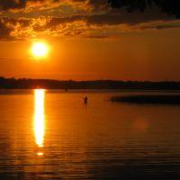 Minnesota Fishing on Medicine Lake. July 2009, Медисин-Лейк