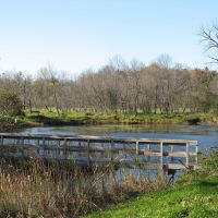 Oct 2010 - Plymouth, Minnesota. Pond in West Medicine Lake Park., Медисин-Лейк