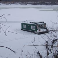 No boating til ice out!, Мендота-Хейгтс