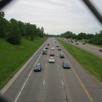 I-35E looking north in mendota hts, Мендота-Хейгтс