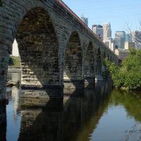 Stone Arch Bridge, Миннеаполис