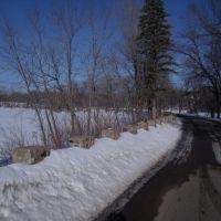 East River Road - Winter, Норт Манкато