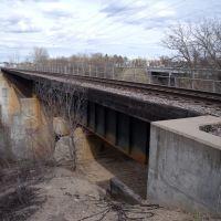 Railway Spanning The Mississippi River, Норт Манкато