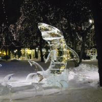 Ice Fishing St Paul Winter Carnival Ice Carving 5th Place, Сант-Пол