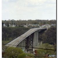 Bridge over Mississippi river, Saint Paul, MN., Сант-Пол