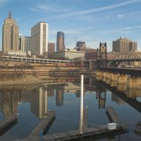 Downtown Saint Paul and Mississippi River, Сант-Пол