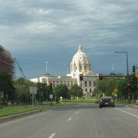 Lit-up Minnesota Capitol, Сант-Пол