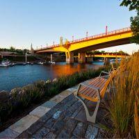 Yellow bridge, Сант-Пол