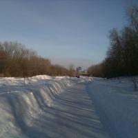 Winter ride on the Cedar Lake Trail, Сент-Луис-Парк