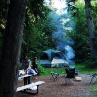 Evening Campsite / Jay Cooke State Park - Carlton,Mn, Сканлон
