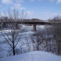 Railway bridge over the Mississippi River, Томсон
