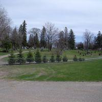 Evergreen Cemetary, Томсон