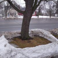 Death of a snow fort, Фергус-Фоллс
