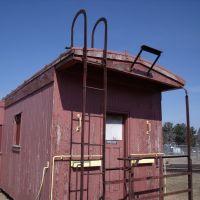 Old caboose, Фергус-Фоллс