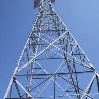 Railroad communication tower., Хиллтоп