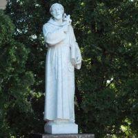 St Francis statue, Brainerd, MN, Хиллтоп
