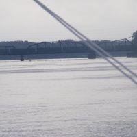 La Crosse Rail Bridge from La Crosse Queen, Хока
