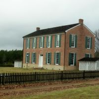 Little Red Schoolhouse, Richland, Holmes County, Mississippi, Батесвилл
