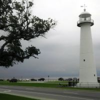 Biloxi Lighthouse - City of Biloxi, MS. Jul 2012, Билокси