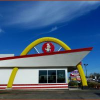 McDonald, a part of glorious american history! Around mid 1950s. in Cleveland, MS, Боил
