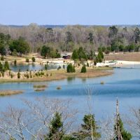 Lake & Beach at St. Stephens Historical Park (St. Stephens, AL), Вест Поинт