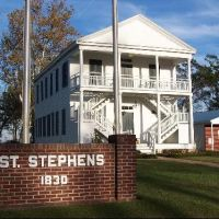 Old Saint Stephens, Washington County, Alabama, Вест Поинт
