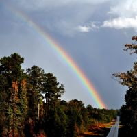 Rainbow at Coffeeville, AL on Oct. 12, 2010, Вест Поинт