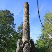 Coon Dog Cemetery Statue 1, Гаттман