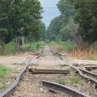 Railroad Tracks in Tutwiler, Mississippi, Глендора