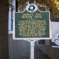 Emmett Till Murder Trial Historical Marker, Глендора