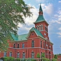 Tate County Courthouse - Built 1875 - Senatobia, MS, Глендора