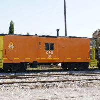 Columbus & Greenville Caboose, Колумбус