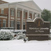Front Gate of Mississippi University for Women, Колумбус