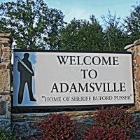 Welcome to Adamsville, TN, Коссут
