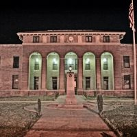 Prentiss County Courthouse - Built 1925 - Booneville, MS, Коссут