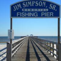 Jim Simpson Sr., Pier --Long Beach, MS--, Лонг Бич